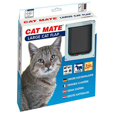 Cat Mate Porte de chat Large 221 W blanc, NEUF