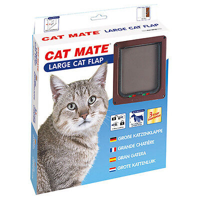 Cat Mate Porte de chat Large 221 B brun, NEUF