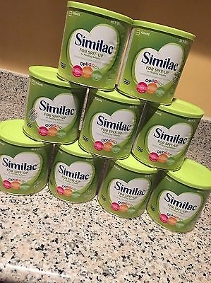 9 Cans Similac For Spit-Up 12oz - FAST Shipping