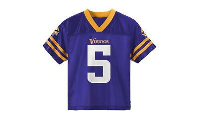a5d6ae7543f New Official NFL Licensed Minnesota Vikings 5 Bridgewater Youth Jersey Size  12M