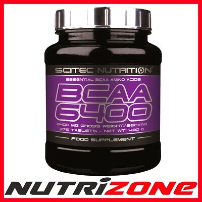 SCITEC NUTRITION BCAA 6400 Essential Amino Acids Tablets BEST PRICE