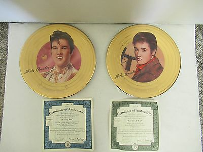 Set Of 2 Bradford Exchange Elvis Presley Plates, 152-L