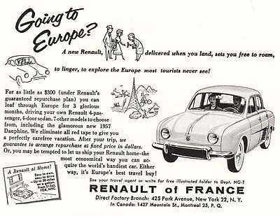 1957 Renault: Going to Europe (16849)