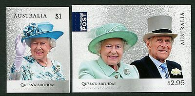 Queen's Birthday 2017 - Mint Ex-Booklet Self-Adhesives (G134)