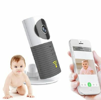 New Wireless Baby Monitor Mini IP Wifi Camera w/Motion Detection Night Vision