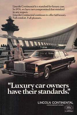 1978 Lincoln Continental: Standards, Control Tower (14839)