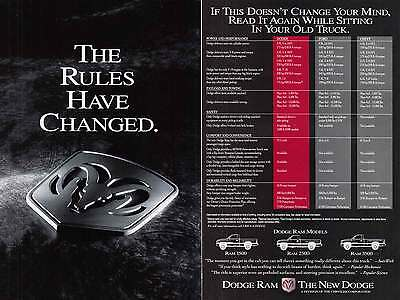 1993 Dodge Ram Brochure: The Rules Have Changed (7774)