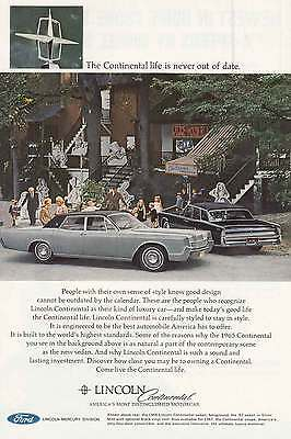 1967 Lincoln Continental: The Continental Life is Never Out (6758)