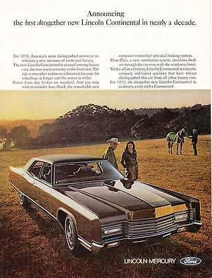 1970 Lincoln Continental: Nearly a Decade (4393)