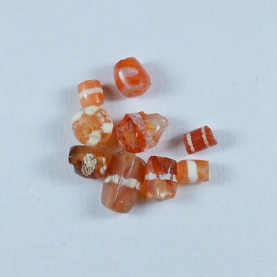 Ancient Pyu Etched Carnelian  Beads 001.21