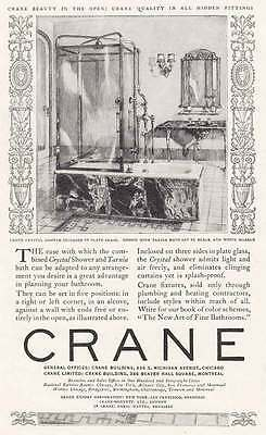 1925 Crane: Crane Beauty in The Open, Crystal Shower (6229)