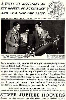 1932 Silver Jubilee Hoovers: 3 Times as Efficient as t (4936)