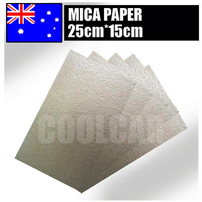 Mica Paper Insulation for Rework Station Hot air Gun Heating Element  25X15CM AU