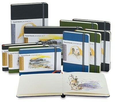 Global Art Hand Book Artist Journal. Choose Your Size/Colour.
