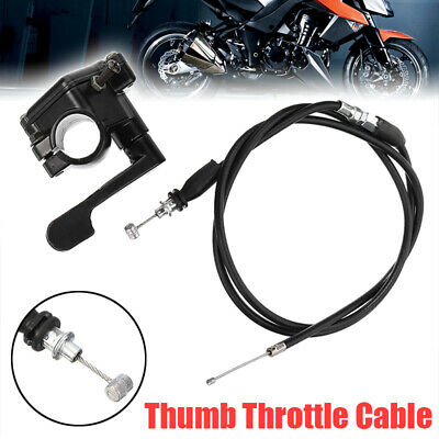 50-150cc 110cc Thumb Throttle Accelerator Cable Fits 4 Stroke Quad ATV Pit Bike