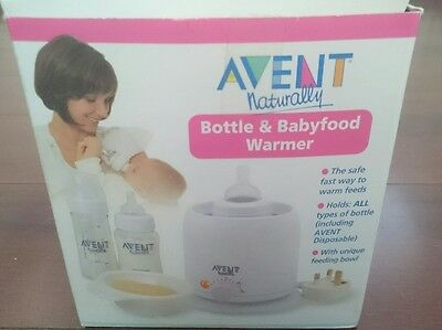 Philips Avent Bottle And Baby Food Warmer, New In Box.