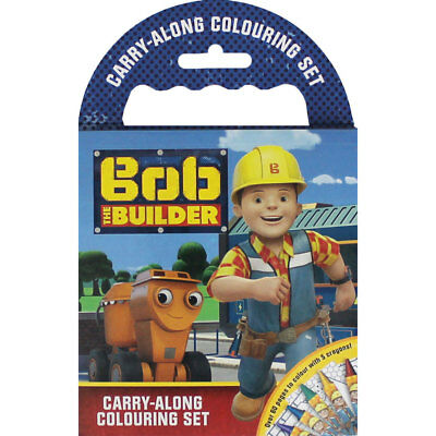 Bob The Builder Carry Along Colouring Set (Paperback), Children's Books, New