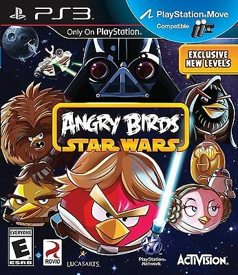 Angry Birds Star Wars PS3 Game Brand New Dispatched from Brisbane in Stock
