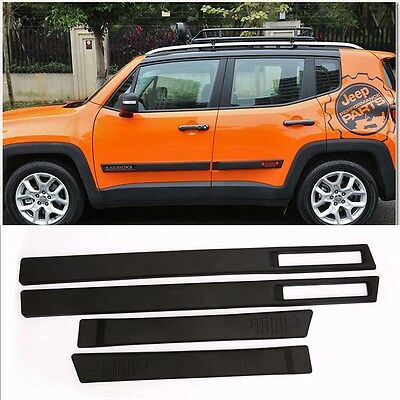 Door Sill Trim fit for JEEP Renegade 2015-2017 Side Nerf Bar Plate Protector