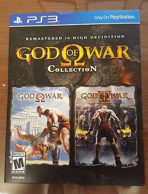God of War Collection PS3 New *DISPATCHED FROM BRISBANE*
