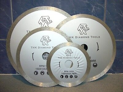 "300mm 12"" inch Diamond segment continuous rim tile saw blade cutting disc wheel"