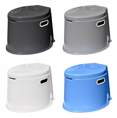Navyline mobile bucket toilet in 4 colors for boat, Caravan, Gazebo etc
