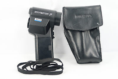 Minolta Spotmeter F Digital Flash & Ambient Light Meter Free shipping (FUNGUS)