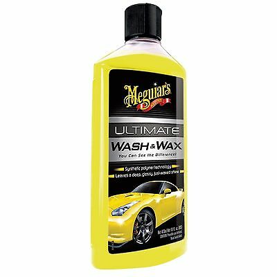 Meguiar's Ultimate WASH and WAX 450ML cire shampoing ultime lavage auto Meguiars