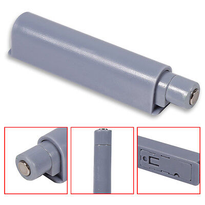 10 X Kitchen Cabinet Door Damper Buffer System Cupboard Push to Open Catch Gray