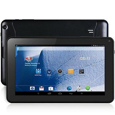 9.0'' Tablet PC A33 Android 4.4 Quad Core 8GB ROM WiFi Bluetooth OTG Negro IES