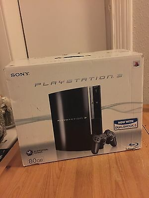 Sony Playstation 3 Ps3 80gb Boxed Console
