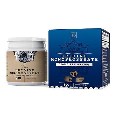 Uridine Monophosphate     Pure Powder     Improve Mood, Memory and Learning