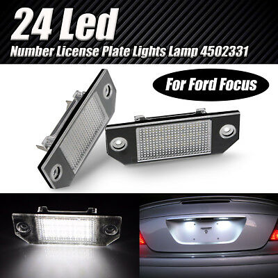 LED NUMBER LICENSE PLATE LIGHTS LAMP For FORD FOCUS C-MAX MK2 ERROR FREE 4502331