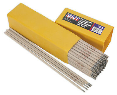 Welding Electrodes Stainless Steel Dia.3.2 X 350Mm 5Kg Pack From Sealey Wess5032