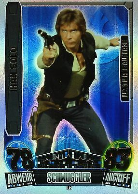 Topps - Force Attax Star Wars Movie Serie 3 - Le32 - Han Solo Limitierte Auflage