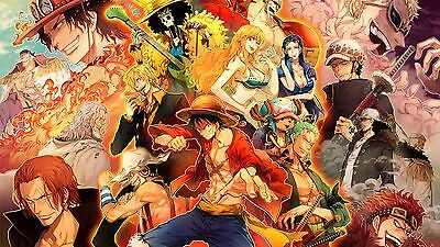 Poster Affiche One Piece Manga Personnage 2 Deco 61x108 cm