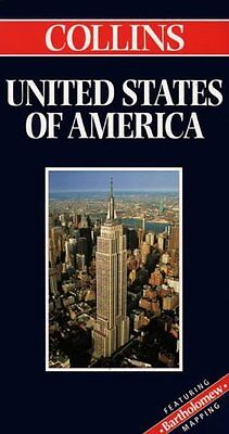 United States of America (World Travel Map) (Collins World Travel Map),GOOD Book