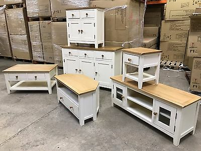 London Ready Assembled living room furniture - sideboard- coffee table- tv unit
