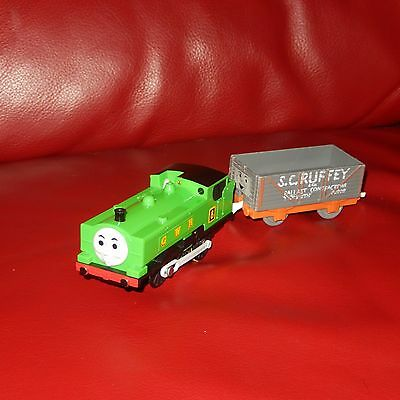 tomy trackmaster thomas the tank engine train duck and scruffey