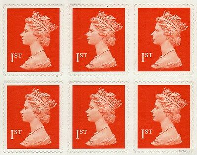 100 x 1st First Class Royal Mail Stamps, Brand New, Self Adhesive.