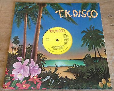 KING SPORTY AND THE ROOT ROCKERS fire keep on burning*move and groove 1978 T.K