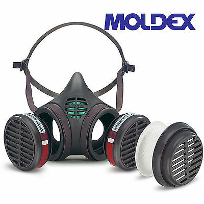 Moldex 8172m - 8000 Series A1 & P2 RD Medium Size Reusable Half Mask Gas Filter