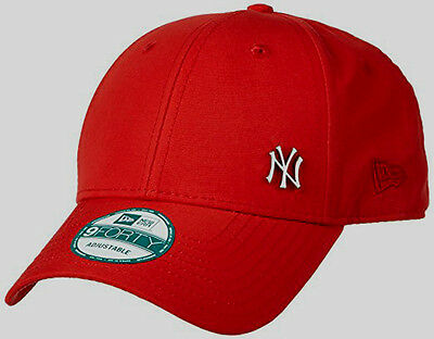New Era Mens 9Forty Baseball Cap.new York Yankees Flawless Red Curved Peak Hat 7
