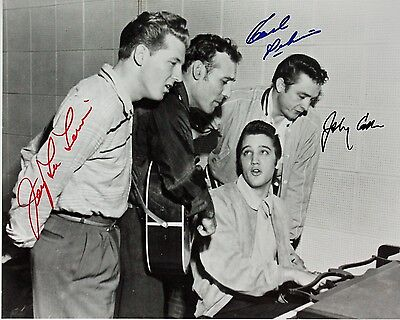 Million Dollar Quartet Autographed 8x10 Signed Photo Reprint