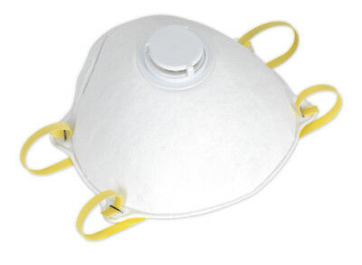 Disposable Dust Mask Ffp2S Pack Of 10 From Sealey Ssp58 Syp