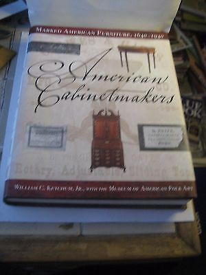 Antique Cabinet Makers Reference Book By William C  Ketchum