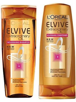 Loreal Paris Elvive Extraordinary Oil Nourishing Shampoo & Conditioner