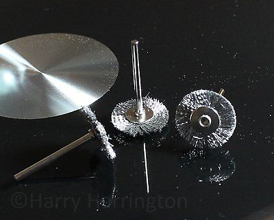 X3 Bonsai Stainless Steel Wire Brushes for Dremel