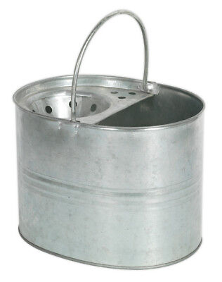 Mop Bucket 13Ltr - Galvanized From Sealey Bm08 Syd