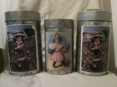 Vintage H. J. Heinz Co. Limited Edition Nesting Tin Cans - Set of 3